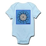 OYOOS Blue Moon design Infant Bodysuit
