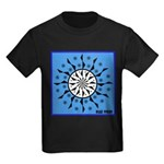 OYOOS Blue Moon design Kids Dark T-Shirt