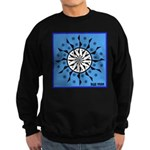 OYOOS Blue Moon design Sweatshirt (dark)