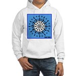 OYOOS Blue Moon design Hooded Sweatshirt