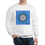 OYOOS Blue Moon design Sweatshirt
