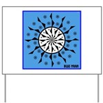 OYOOS Blue Moon design Yard Sign