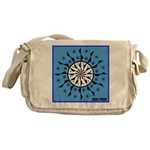 OYOOS Blue Moon design Messenger Bag