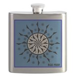 OYOOS Blue Moon design Flask