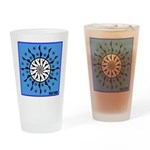 OYOOS Blue Moon design Drinking Glass