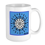 OYOOS Blue Moon design Large Mug
