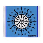 OYOOS Blue Moon design Throw Blanket