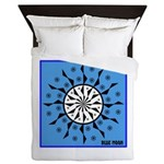 OYOOS Blue Moon design Queen Duvet