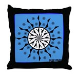 OYOOS Blue Moon design Throw Pillow