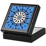 OYOOS Blue Moon design Keepsake Box