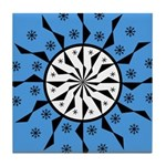 OYOOS Blue Moon design Tile Coaster