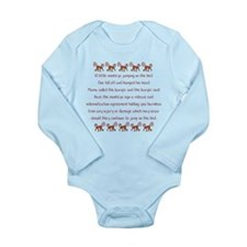 Unique Animal laws Long Sleeve Infant Bodysuit