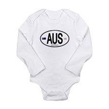 Cute Down under Long Sleeve Infant Bodysuit
