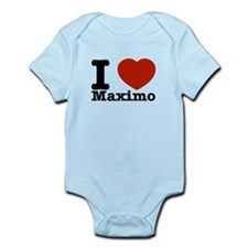 I Love Maximo Infant Bodysuit