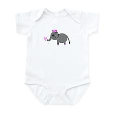 Unique Bow Infant Bodysuit