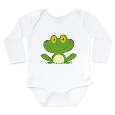 Frog Long Sleeve Infant Bodysuit