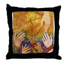 Unique India adoption Throw Pillow