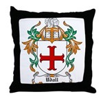 Udall Coat of Arms Throw Pillow