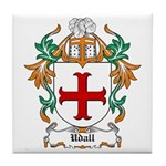 Udall Coat of Arms Tile Coaster