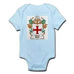 Udall Coat of Arms Infant Creeper