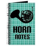 French Horn Notes Journal