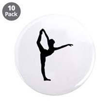 "Ballet 3.5"" Button (10 pack)"