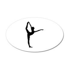 Ballet 22x14 Oval Wall Peel