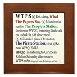 What is WTPS? Framed Tile