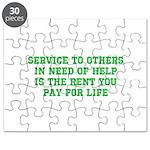Service Merchandise Puzzle