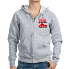 Save the Circus from Animal Scams Zip Hoodie