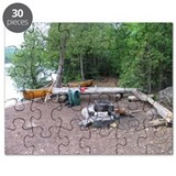 Boundary Waters Campsite Puzzle