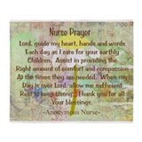 Nurse Prayer Blanket Size Yellow.PNG Stadium Blan