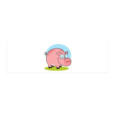 Pig 42x14 Wall Peel