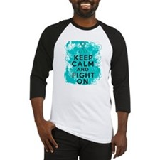 PKD Keep Calm Fight On Baseball Jersey