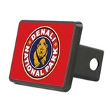 Denali Red Circle Hitch Cover