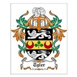 Tyler Coat of Arms Small Poster