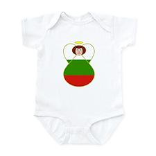 Bulgarian Flag Angel Infant Bodysuit