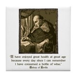 Bishop of Seville Tile Coaster