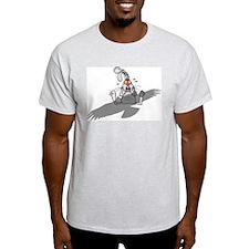 Oh No! Ash Grey T-Shirt