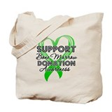 Support Bone Marrow Tote Bag