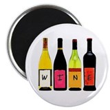 WINE Bottles Magnet