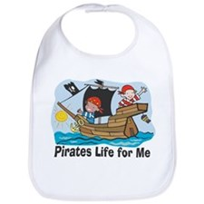 Pirates Life For Me Bib