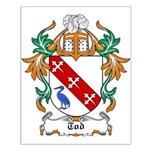 Tod Coat of Arms Small Poster