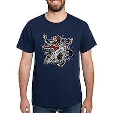 MacTavish Tartan Lion T-Shirt