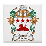 Spence Coat of Arms Tile Coaster