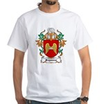 Seymour Coat of Arms White T-Shirt