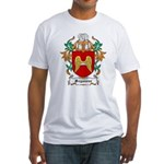 Seymour Coat of Arms Fitted T-Shirt