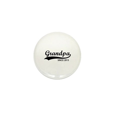 Grandpa since 2013 Mini Button (10 pack)