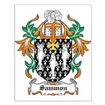 Sammon Coat of Arms Small Poster
