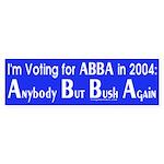 ABBA in 2004 Bumper Sticker